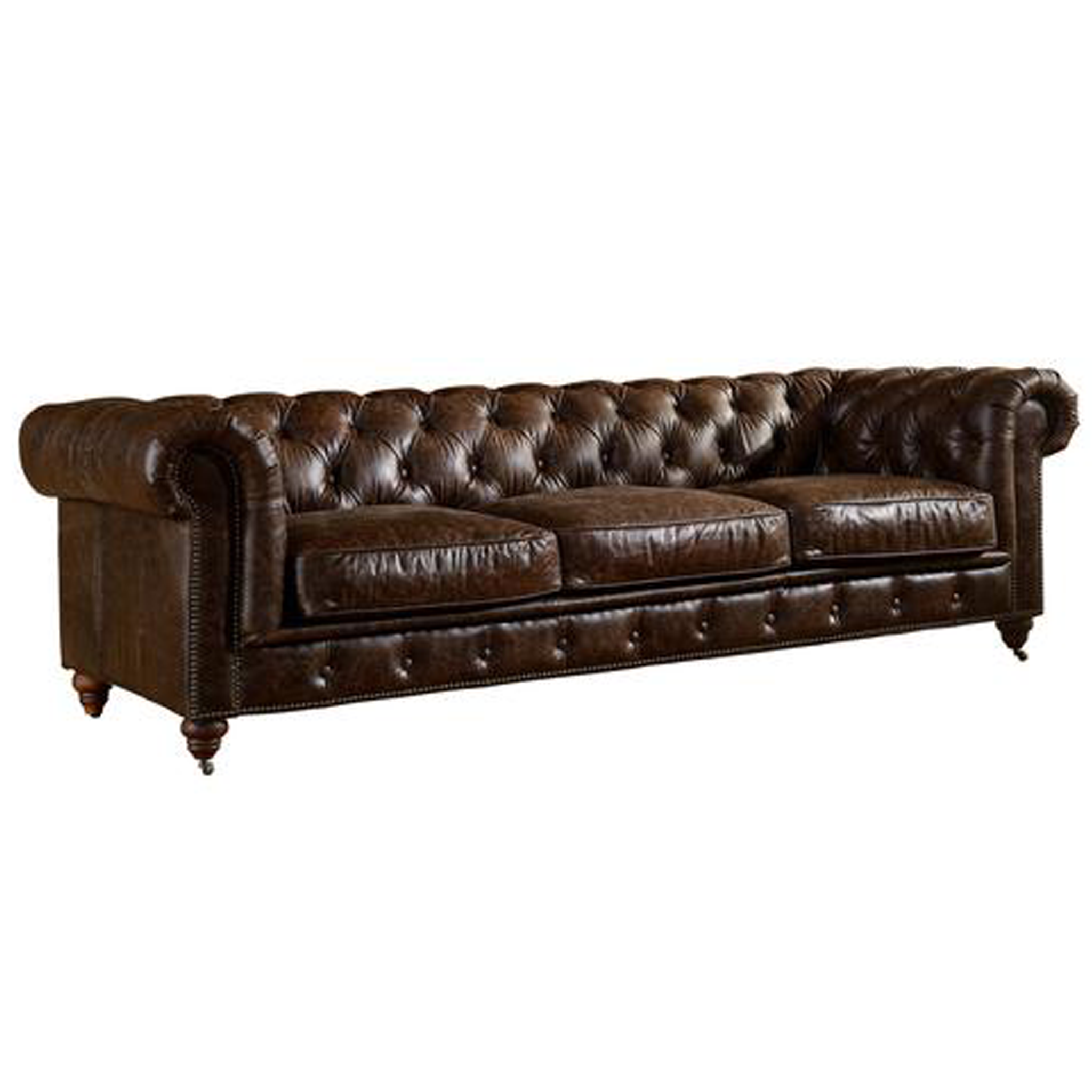 Preorder Century Chesterfield Sofa Dark Brown Leather In 2020 Brown Leather Chesterfield Brown Leather Chesterfield Sofa Leather Chesterfield Sofa