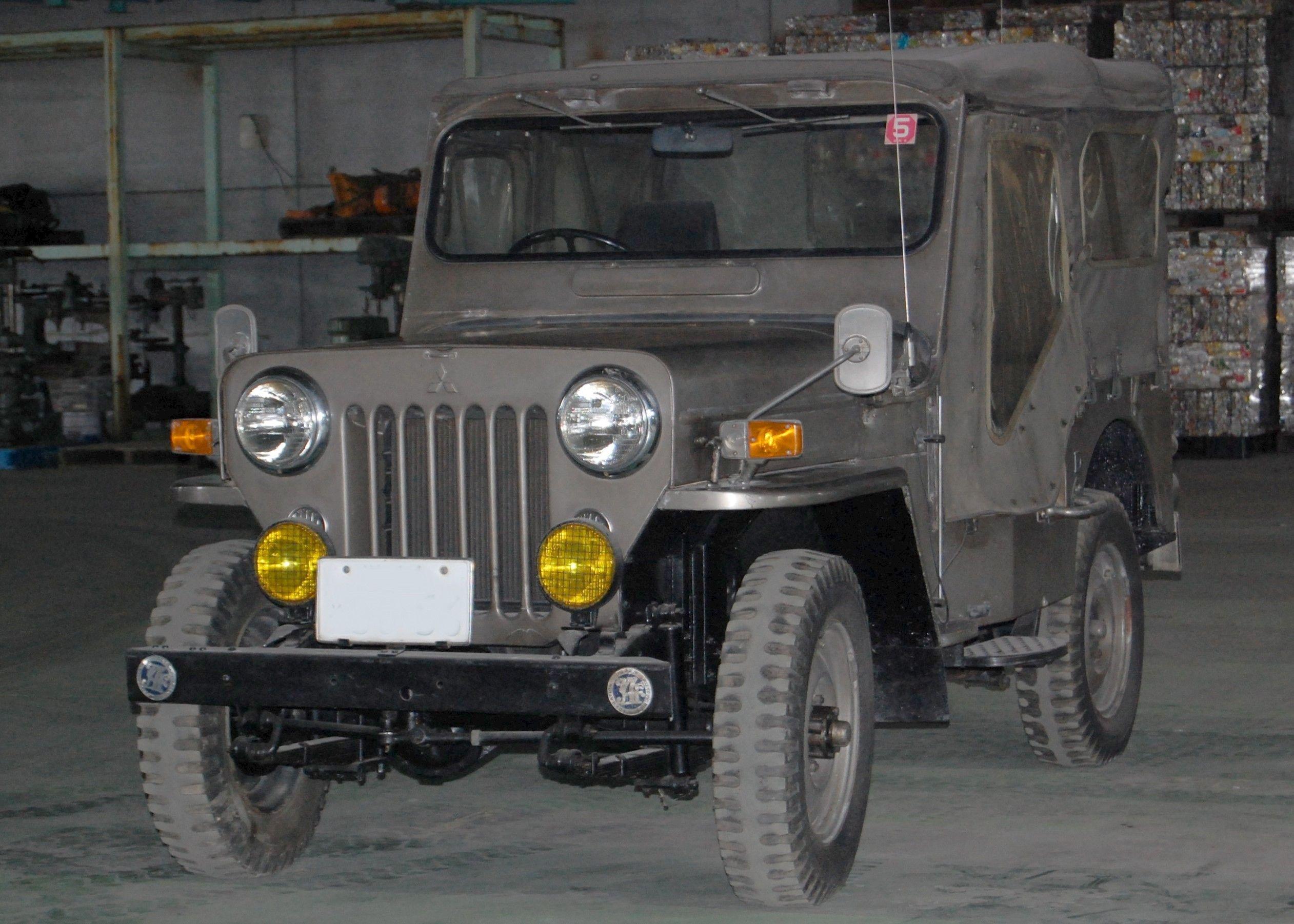 Mitsubishi Jeep J54 Jeep Suv Mahindra Jeep Jeep
