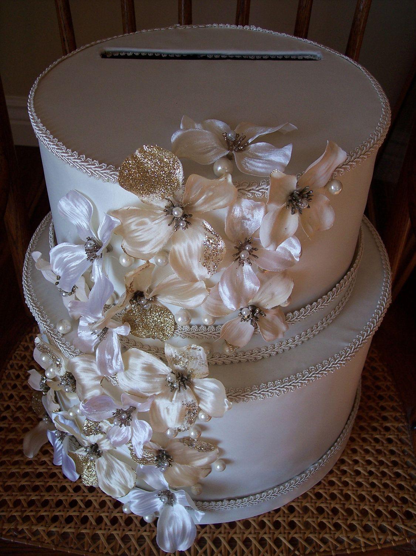 Elegant Wedding Card Box, Money Card Box, Wedding Cash Box, Wedding ...