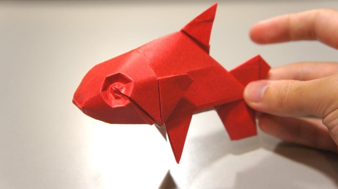 Origami Fish Davor Vinko Origami Fish Origami Easy Origami And Quilling