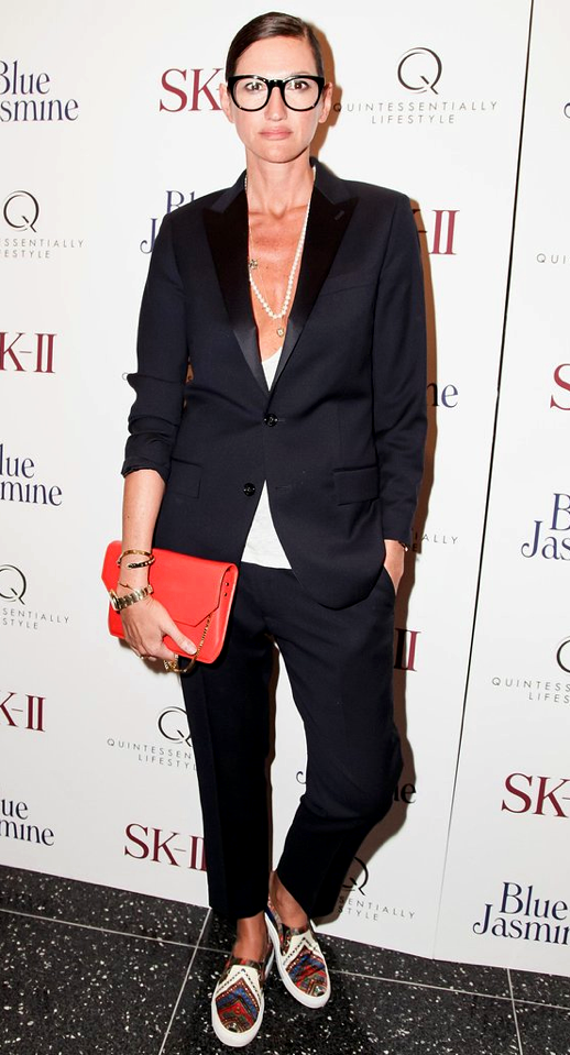 THREE WAYS: JENNA LYONS | MODERN SUIT - Le Fashion