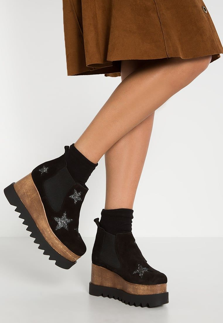 es Botines Plataforma Con Shoes Evelyn Black Kmb Zalando paqfwRxgn