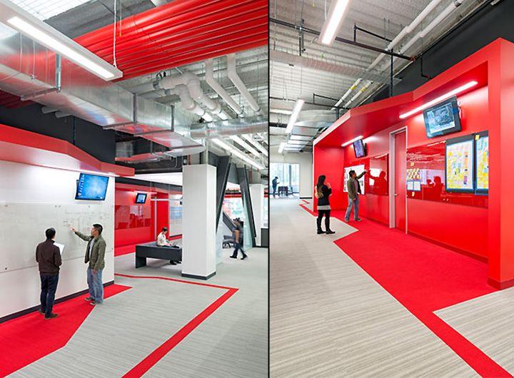 Comcast Innovation Center by Design Blitz, Sunnyvale