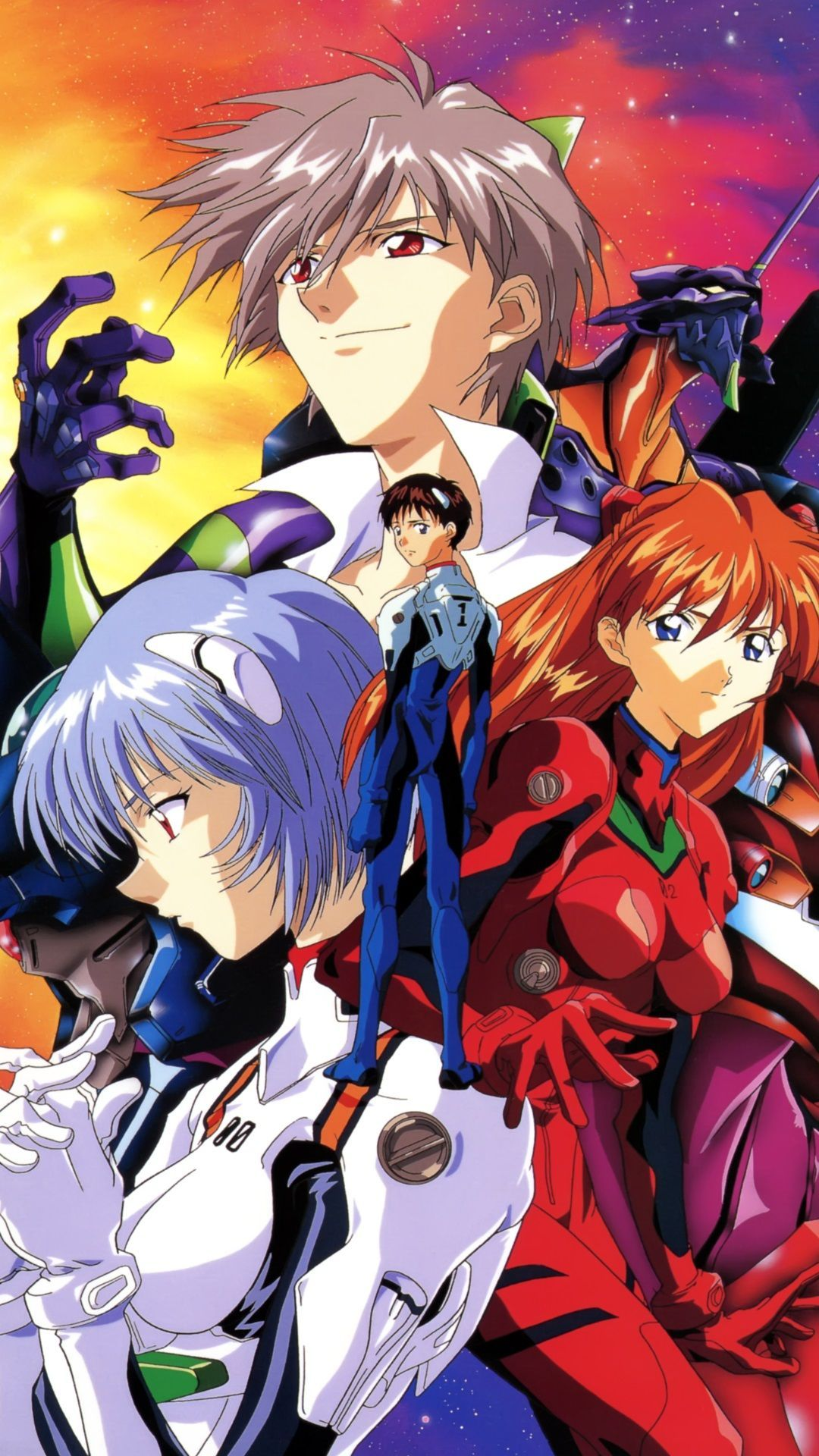 1080x1920 Neon Genesis Evangelion HD smartphone wallpapers