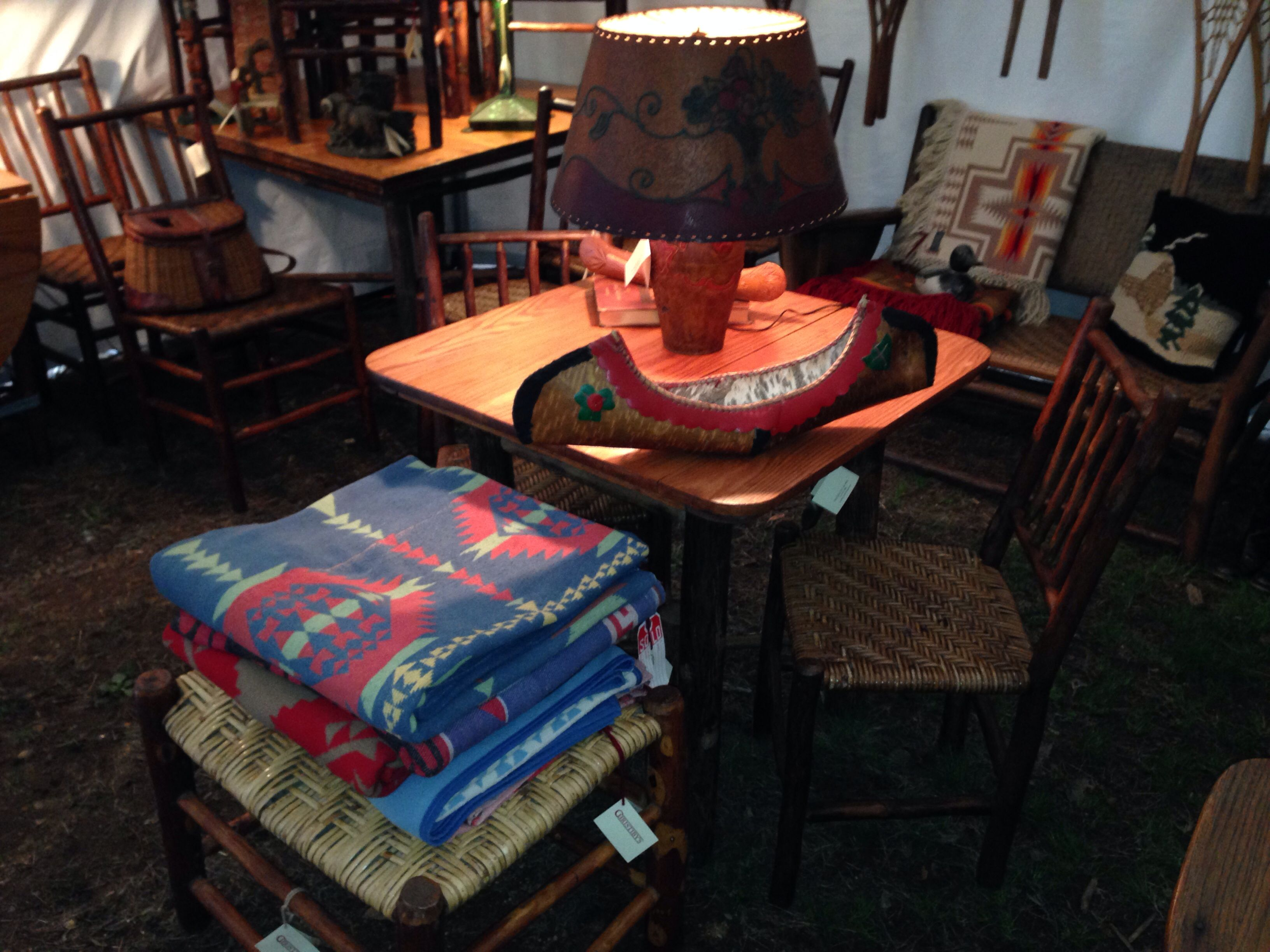 Camp blankets, Brimfield Antique Market, May, 2014, Christibys