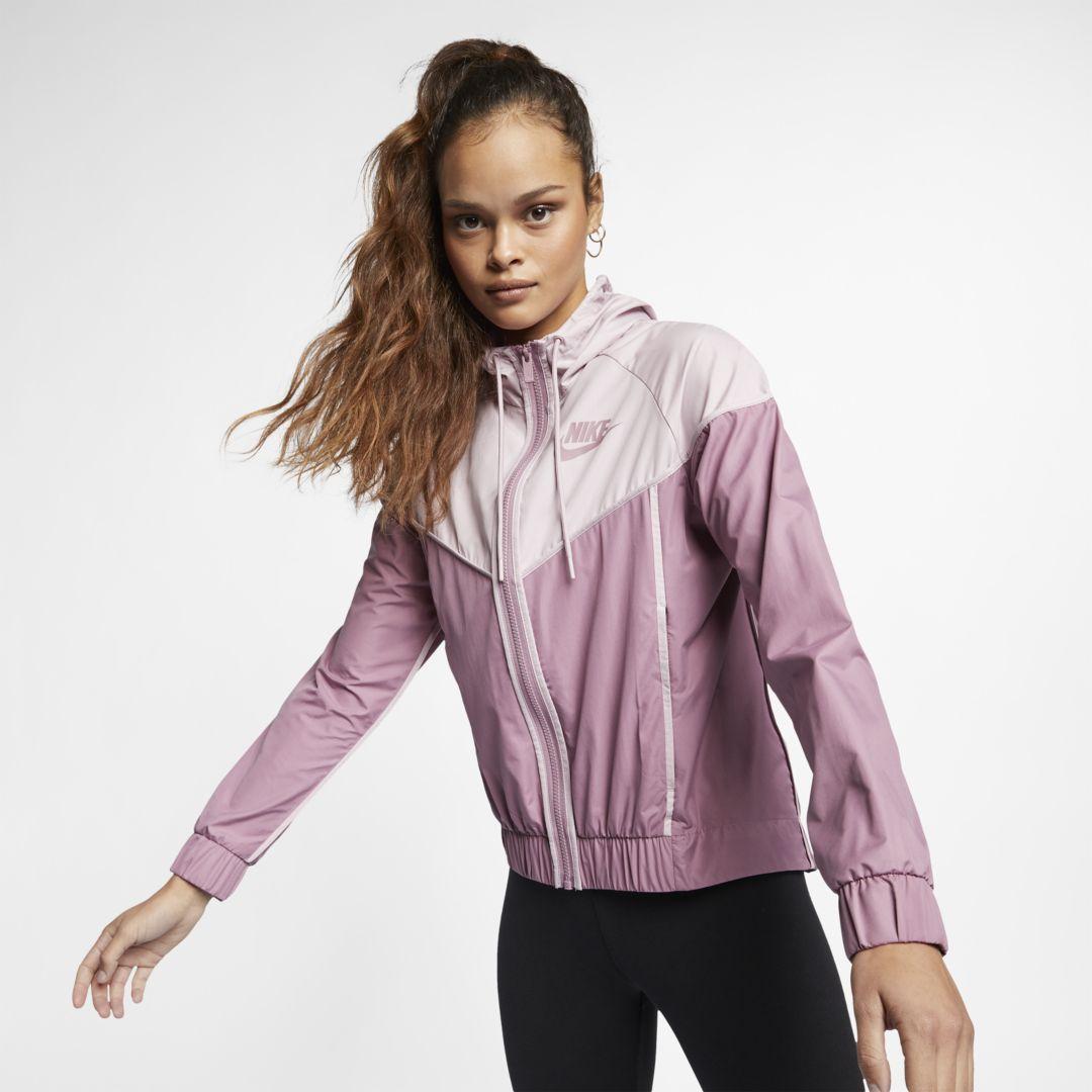 fe59fc6f3 Nike Sportswear Windrunner Women's Woven Windbreaker Size M (Plum Dust)
