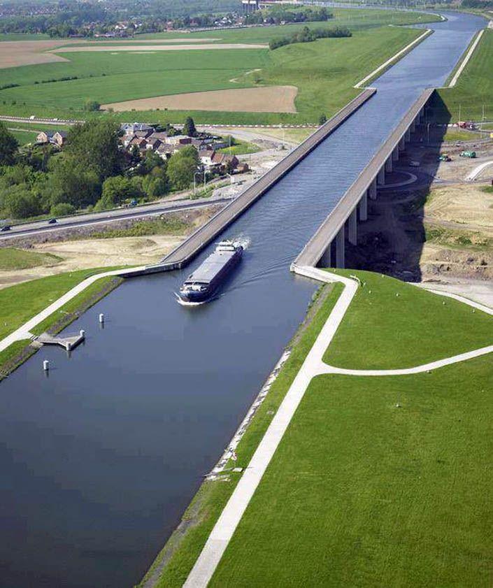 водный мост в бельгии фото земли плавает магме