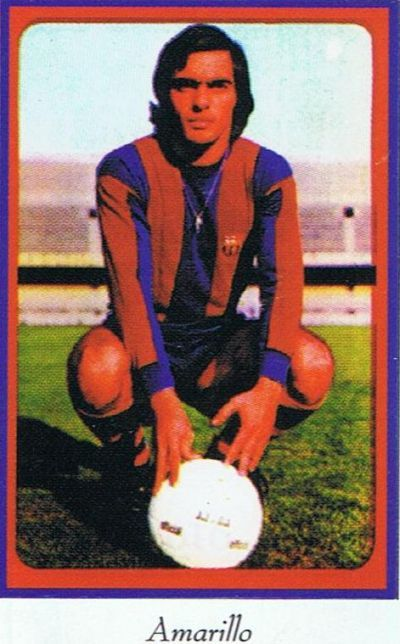 Alfredo Amarillo (1976-1979): The only Uruguayan to play for Barcelona in the 1970s. Won the Copa del Rey in 1978. 41 caps, 3 goals.