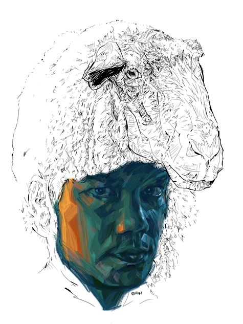 THE WOLF, Rofizano Zaino (aka Rofi; b1970, Singapore) | digital art