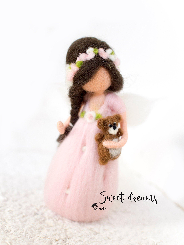 Camera Matrimoniale In Regalo.Feltrata Fairy Doll Fiore Ragazza Regalo Arredamento Camera Da