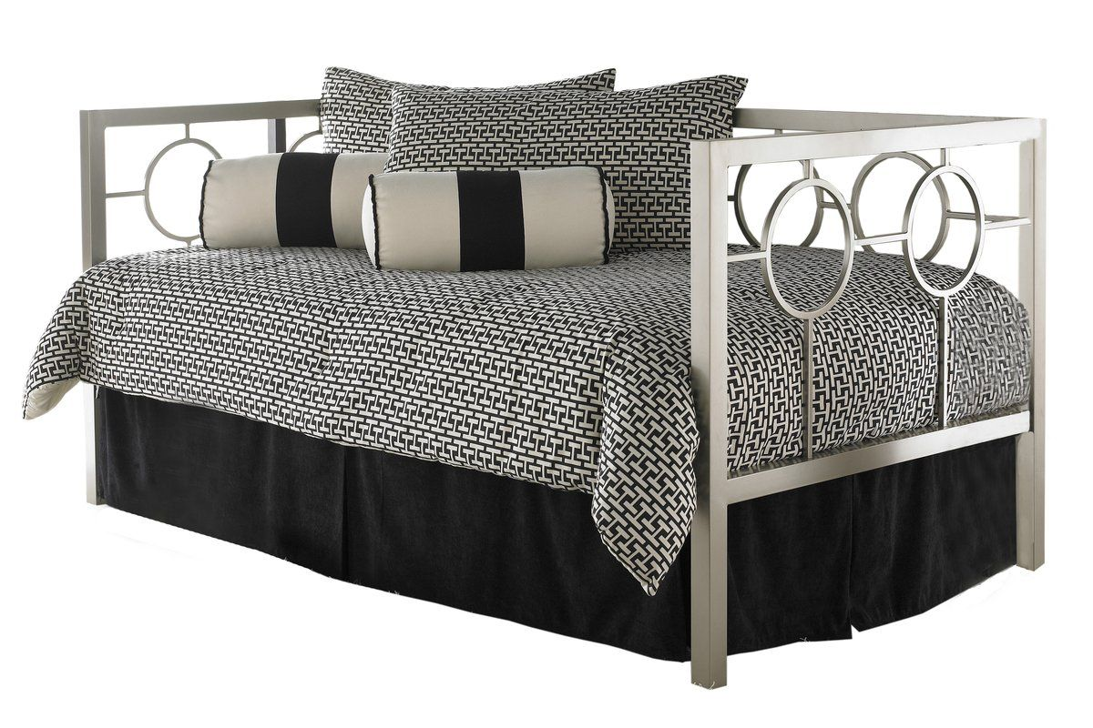 Lefferts Daybed with Trundle Bed styling, Furniture