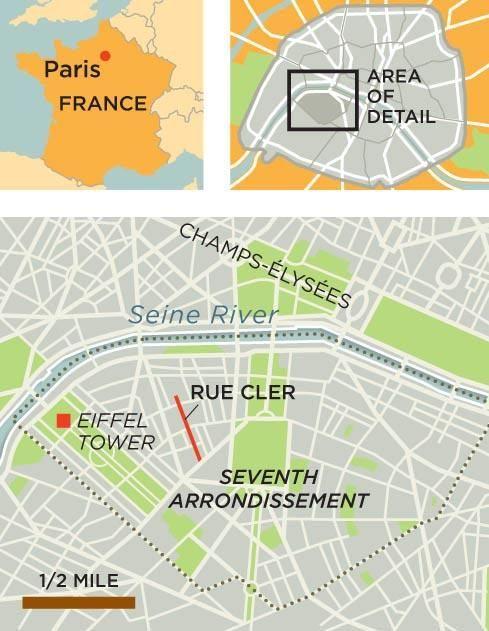 Rick Steves Europe Rue Cler Paris France Maps Pinterest - Rue france map