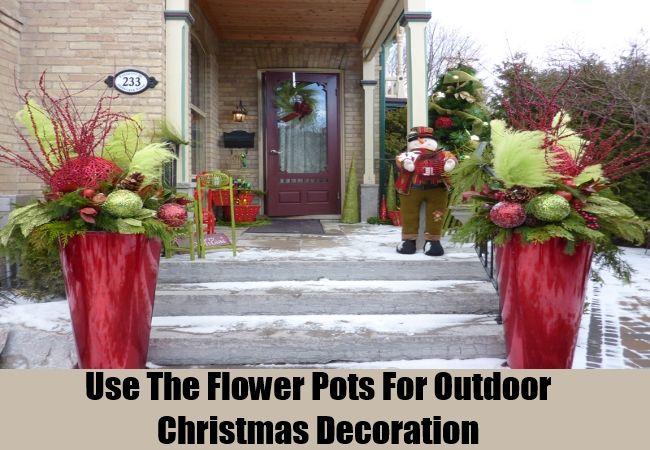 Homemade Outdoor Christmas Decorating Ideas - Ideas For Christmas