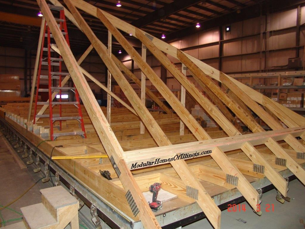 modular home hip roof in Midwest | Modular home after