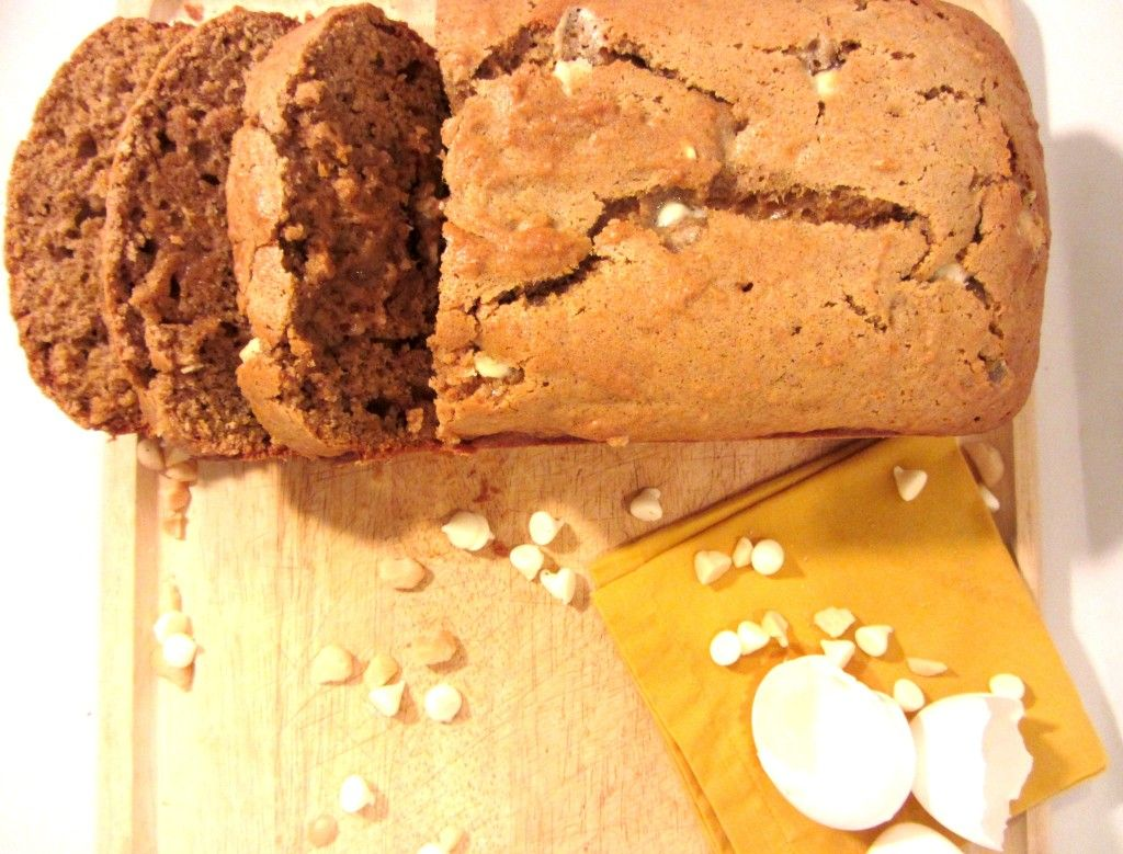 Thanksgiving Dessert - Sweet Potato White Chocolate Bread