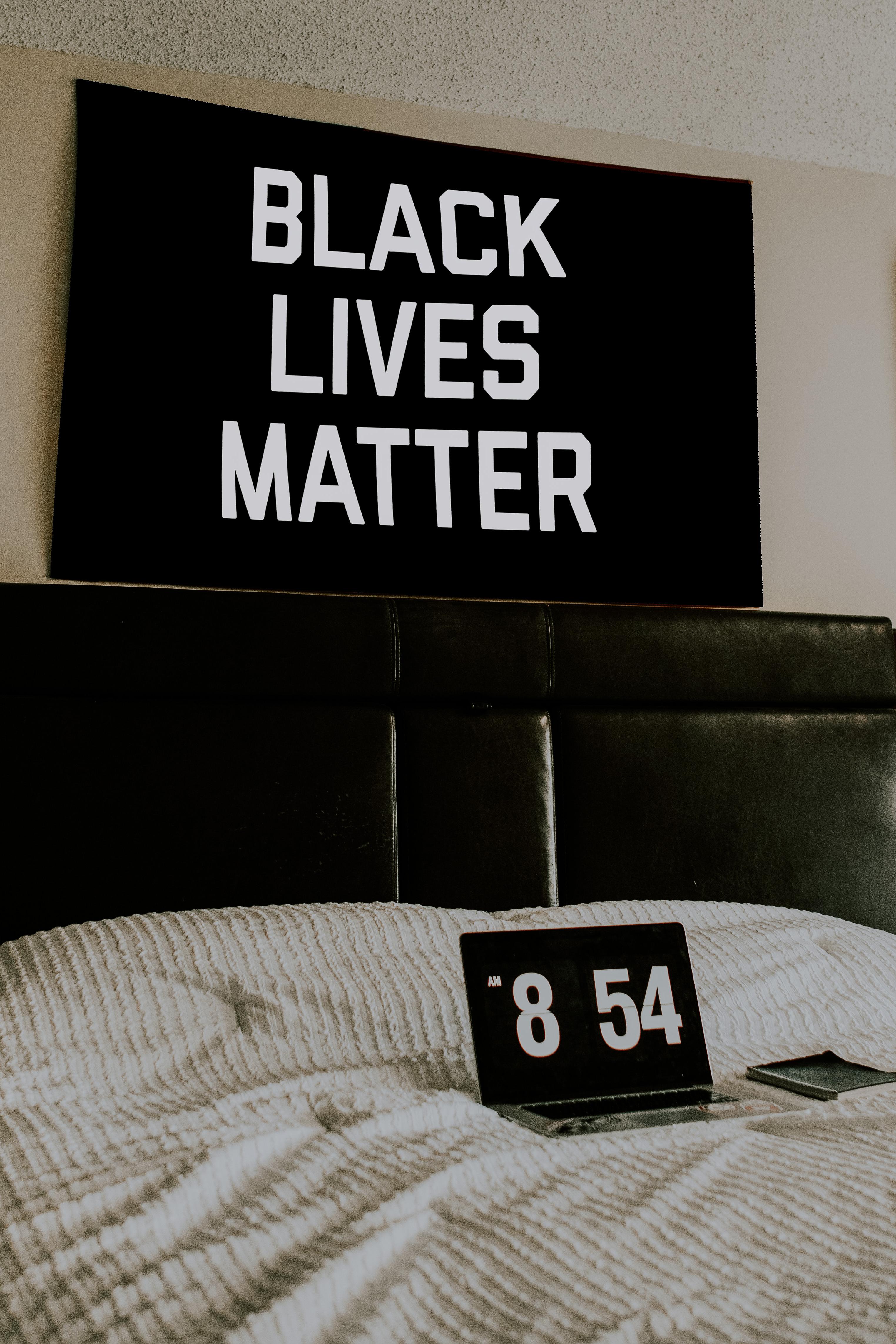 Black Lives Matter Flag Wall Design Black Lives Matter Black Lives Wall Design