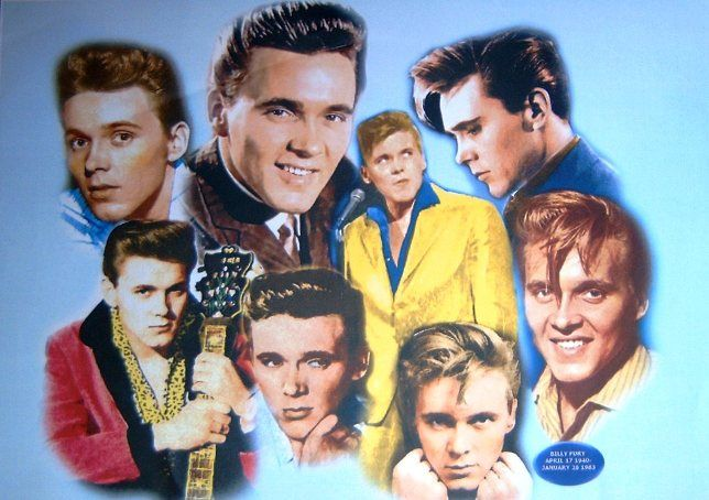 Billy Fury, born Ronald William Wycherley, (April 17, 1940 - January 28, 1983) was an internationally successful English singer from the late-1950s to the mid-1960s, and remained an active songwriter until the 1980s.