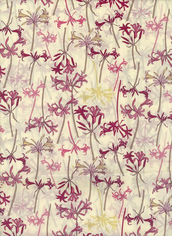 Liberty of London fabric tana lawn Hurren 6x27 by MissElany, $4.25