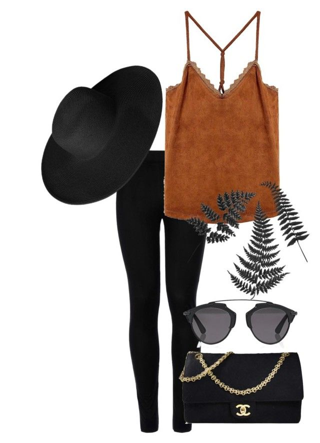 """""""73"""" by calliejenkins ❤ liked on Polyvore featuring Wolford, Chanel, Christian Dior and Dorfman Pacific"""
