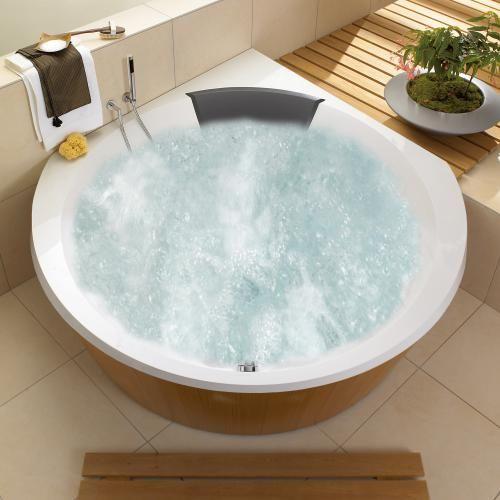 Villeroy & Boch Luxxus Eck Badewanne mit Whirlpoolsystem