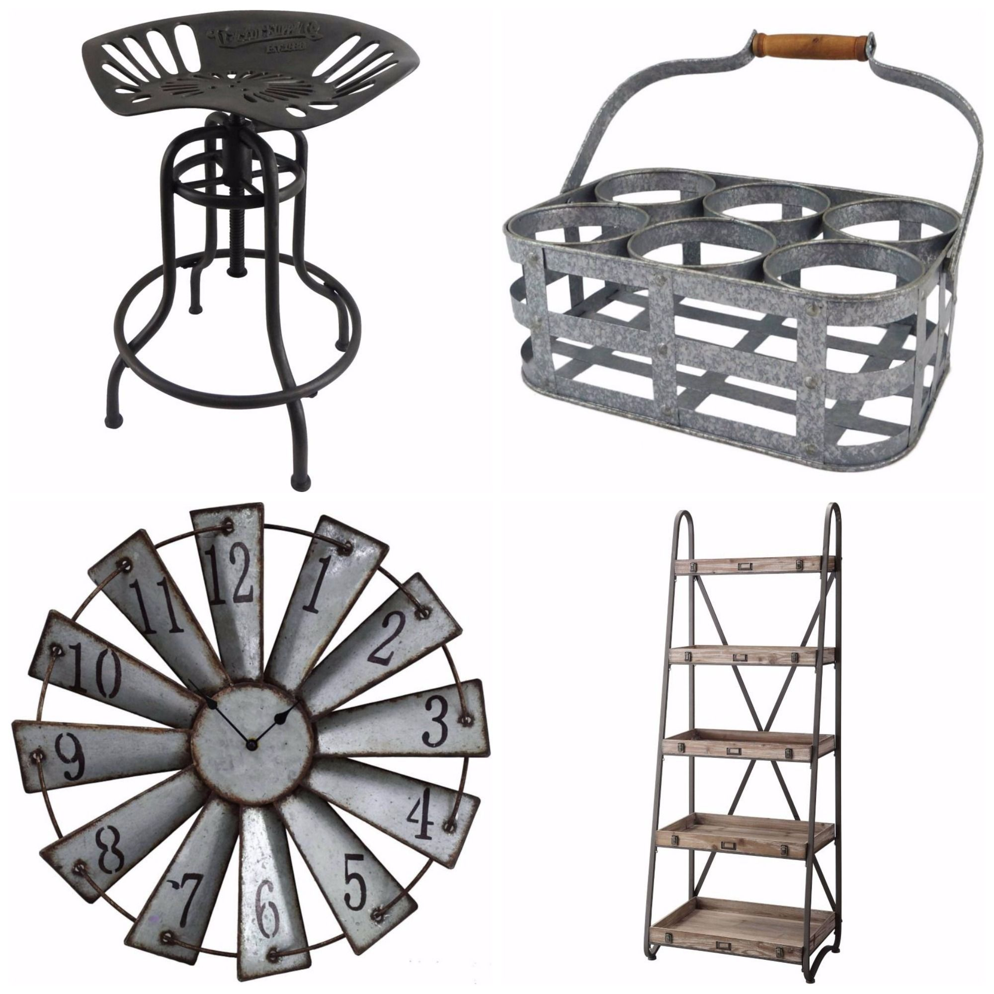 Where To Buy Affordable Industrial Farmhouse Decor
