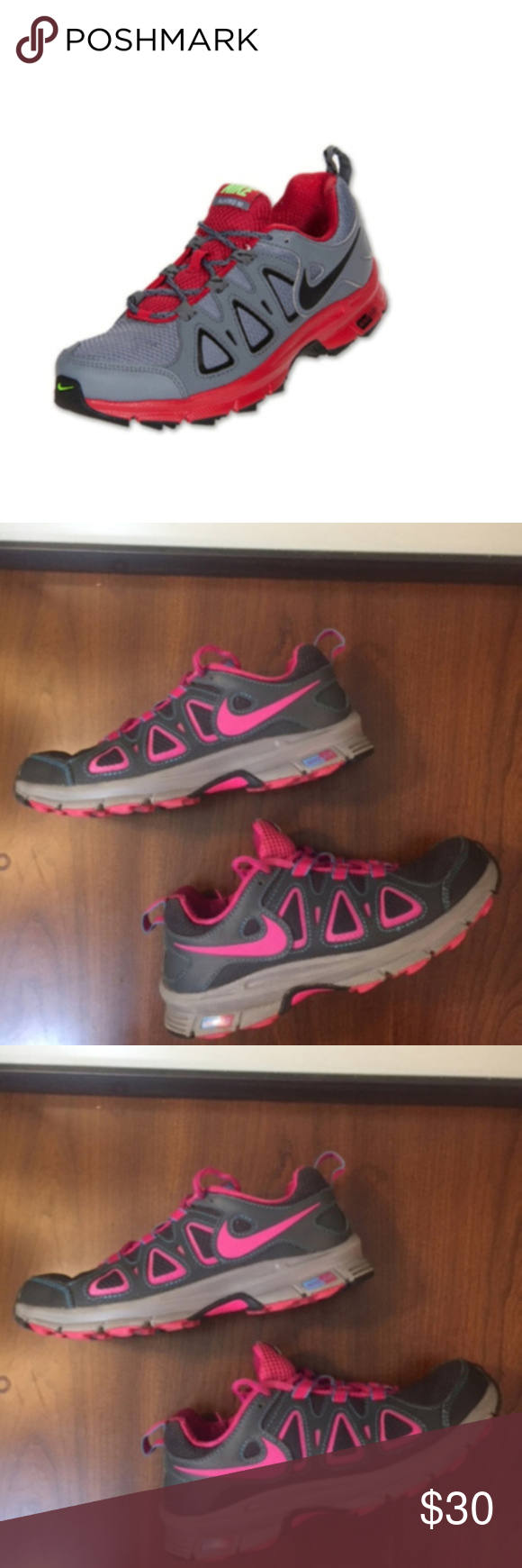 26769e580c8ac Nike Air Alvord Trail Running Shoes (6.5) Excellent condition. Water ...