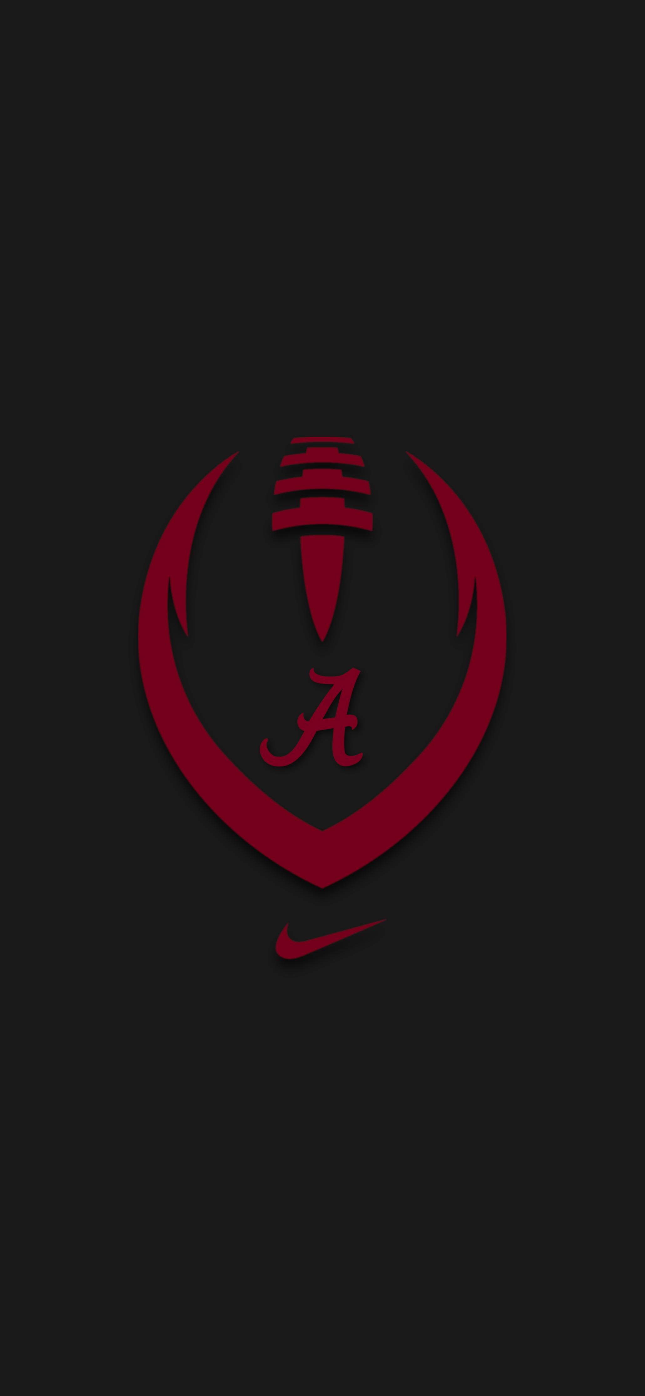 Nike Ball 2 Alabama Crimson Tide Logo Alabama Crimson Tide Crimson Tide Football