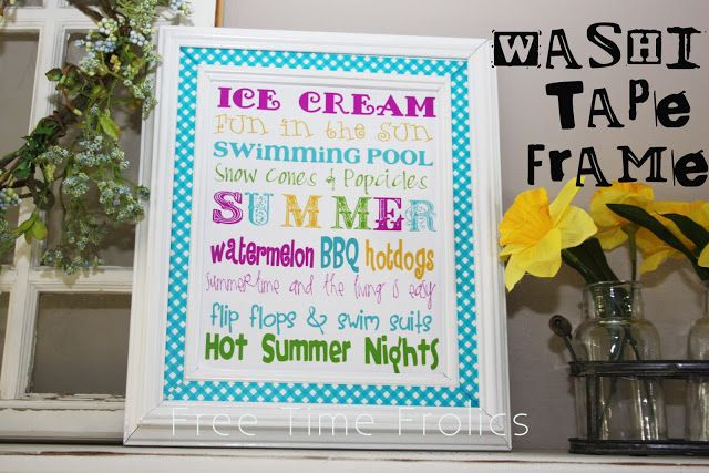 Free Time Frolics: Summertime Free Printable
