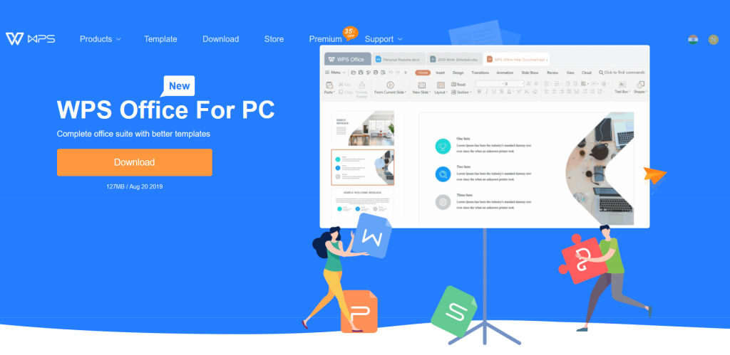 Kingsoft Office Introduces Office Software Suit Wps Office 2020 In India Techniblogic Software Office 2020 Competitor Analysis