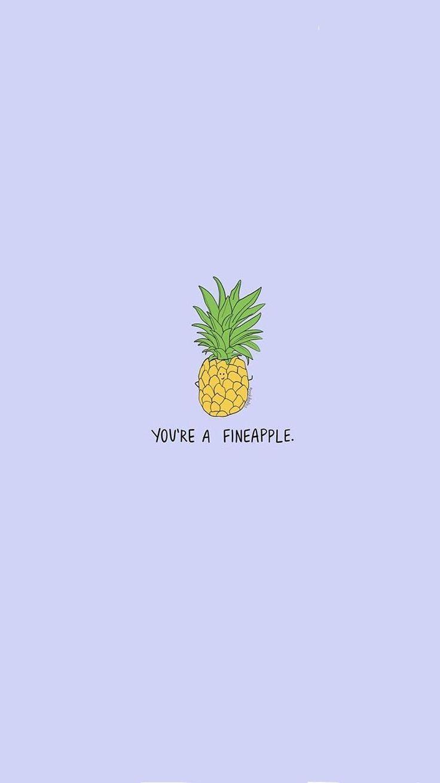 Fineapple Cute Pineapple Wallpaper Download Cute Wallpapers Wallpaper Iphone Cute