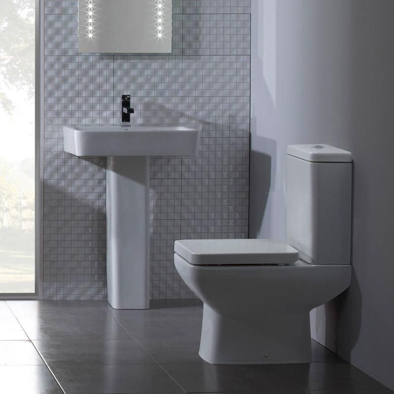 Q60 Modern Bathroom Suite With Complete Basin Toilet Modern Toilet Basin Suites Bathroom Suites Bat Modern Toilet Modern Bathroom Space Saving Toilet