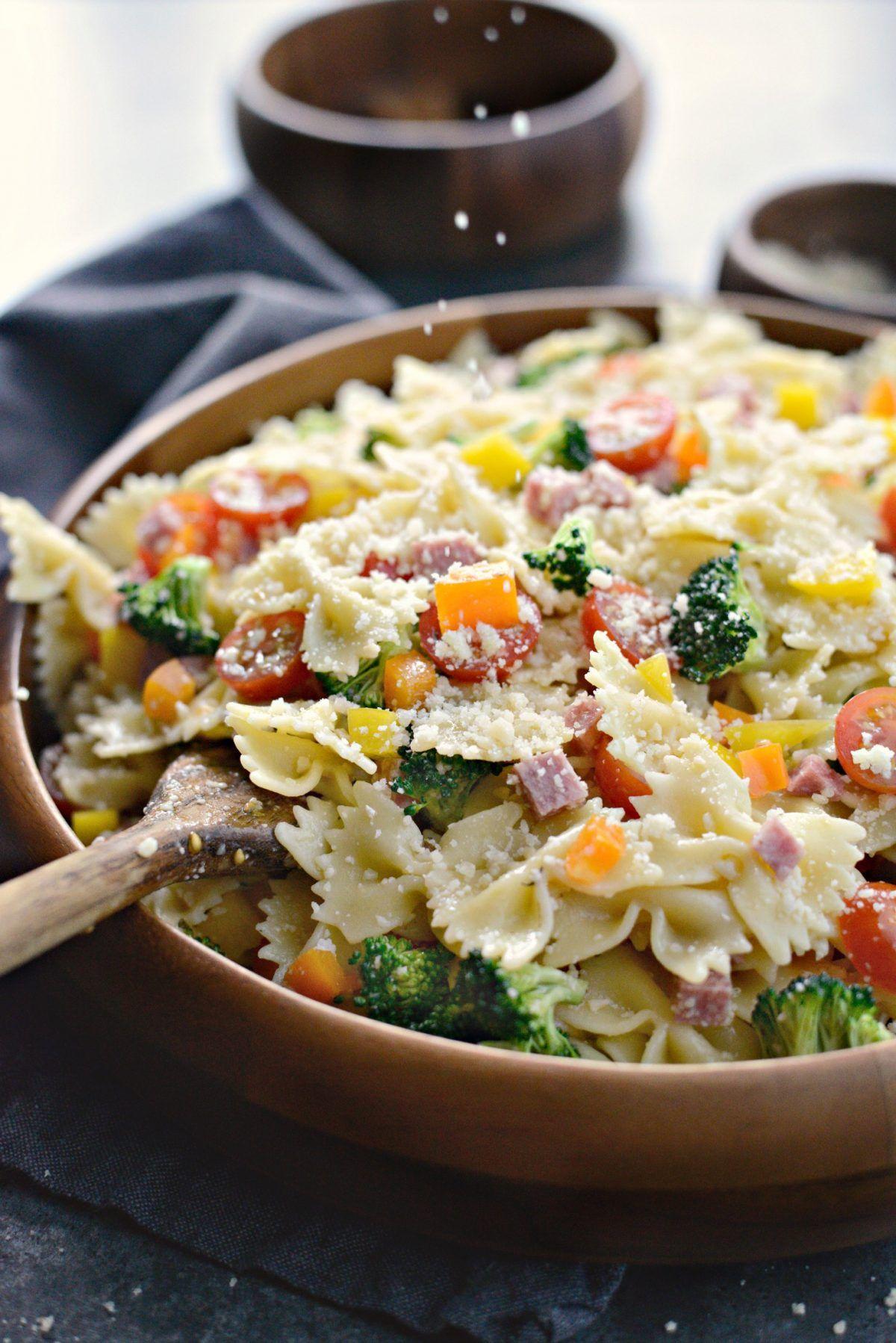 Italian Bowtie Pasta Salad Recipe Pasta Salad Pasta Pasta
