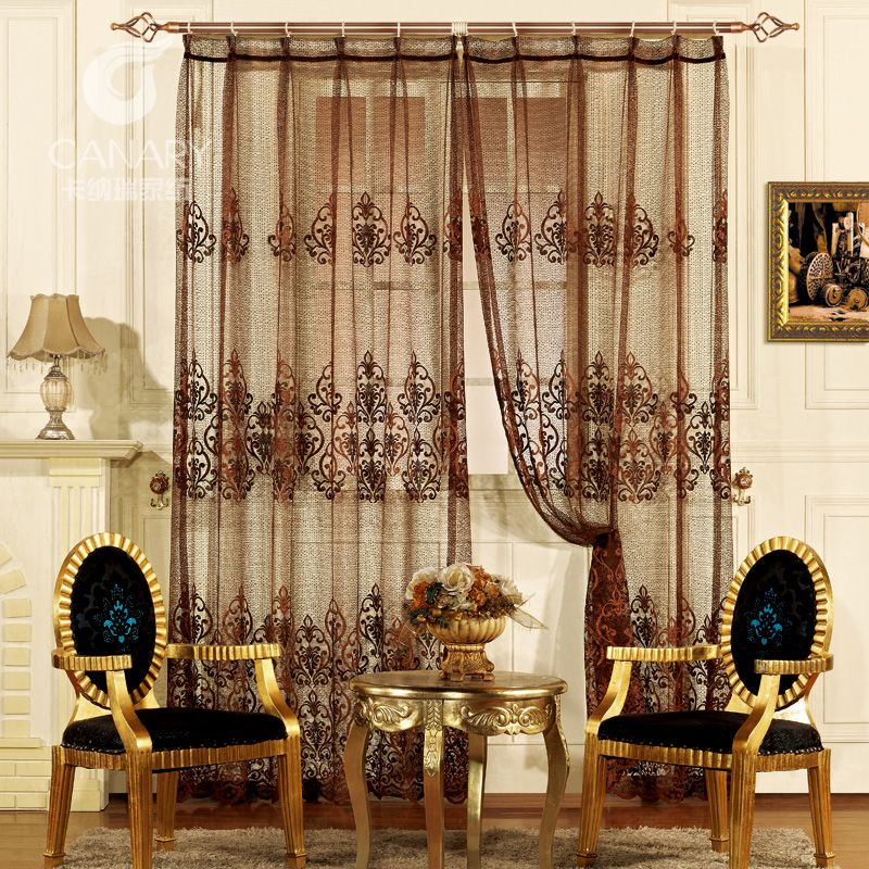 ... Buy Quality Curtain Display Directly From China Curtains Sewing  Suppliers: 2013 New Fashion Jacquard Sheer Curtains Classical Coffee Living  Room Curtain ... Part 35