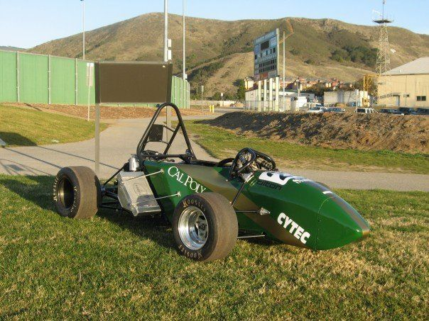Cal Poly Society of Automotive Engineers Formula style race car
