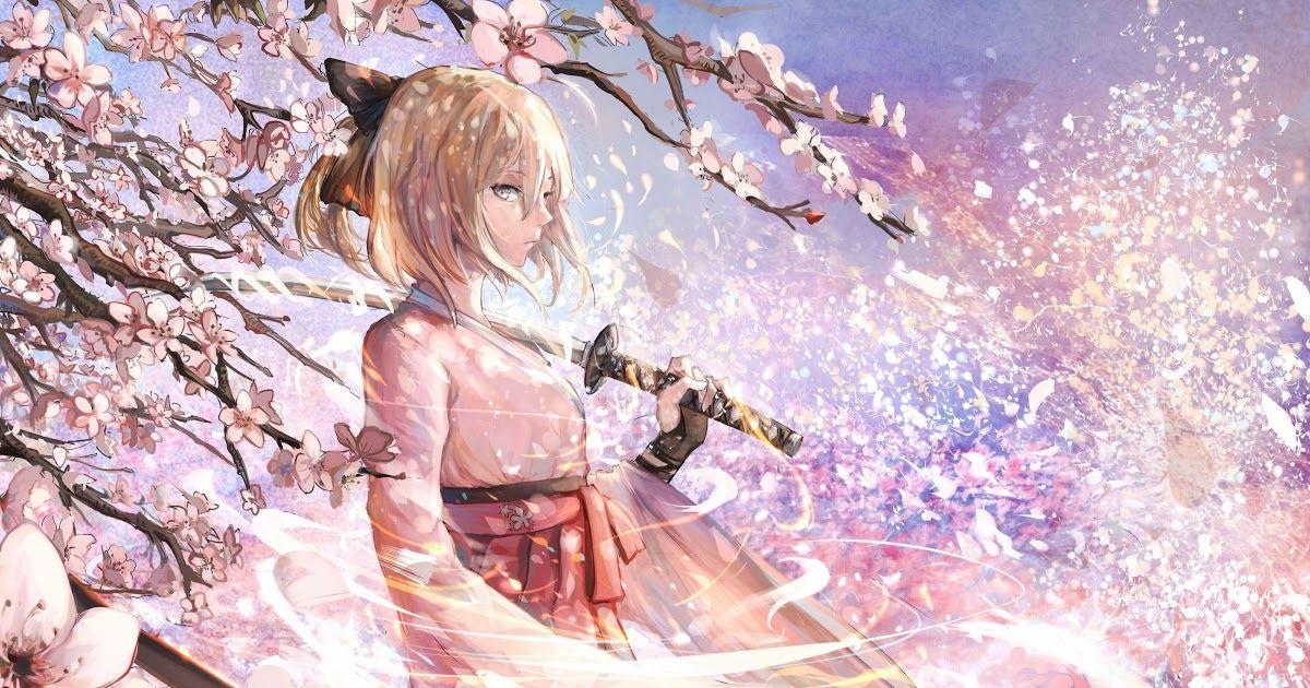 Pin On Anime Cherry Blossom