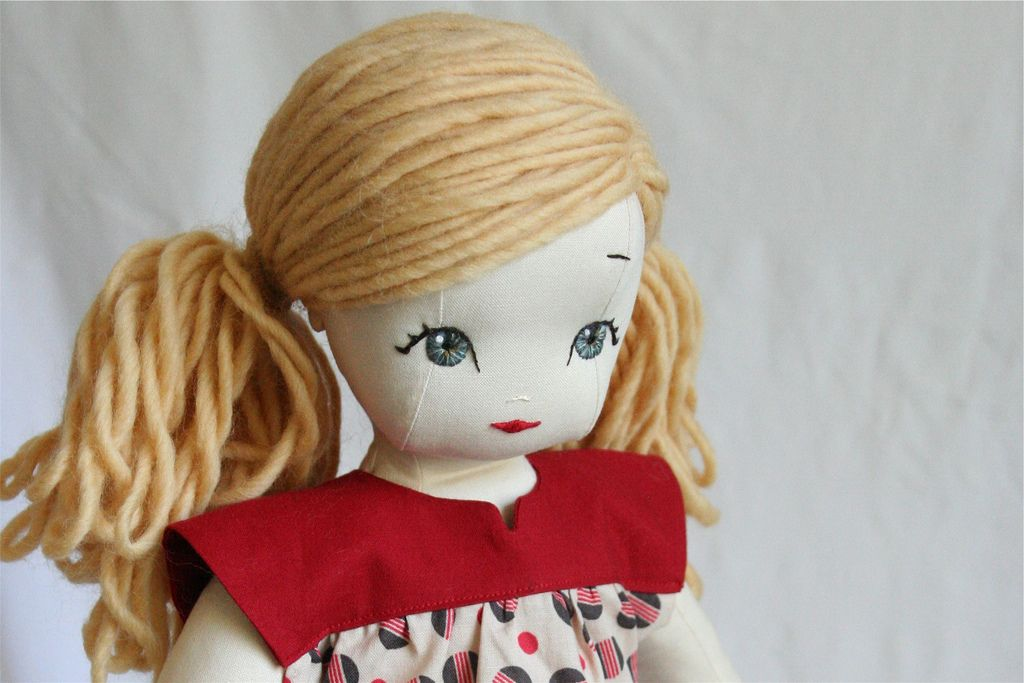 Doll with Ponytail