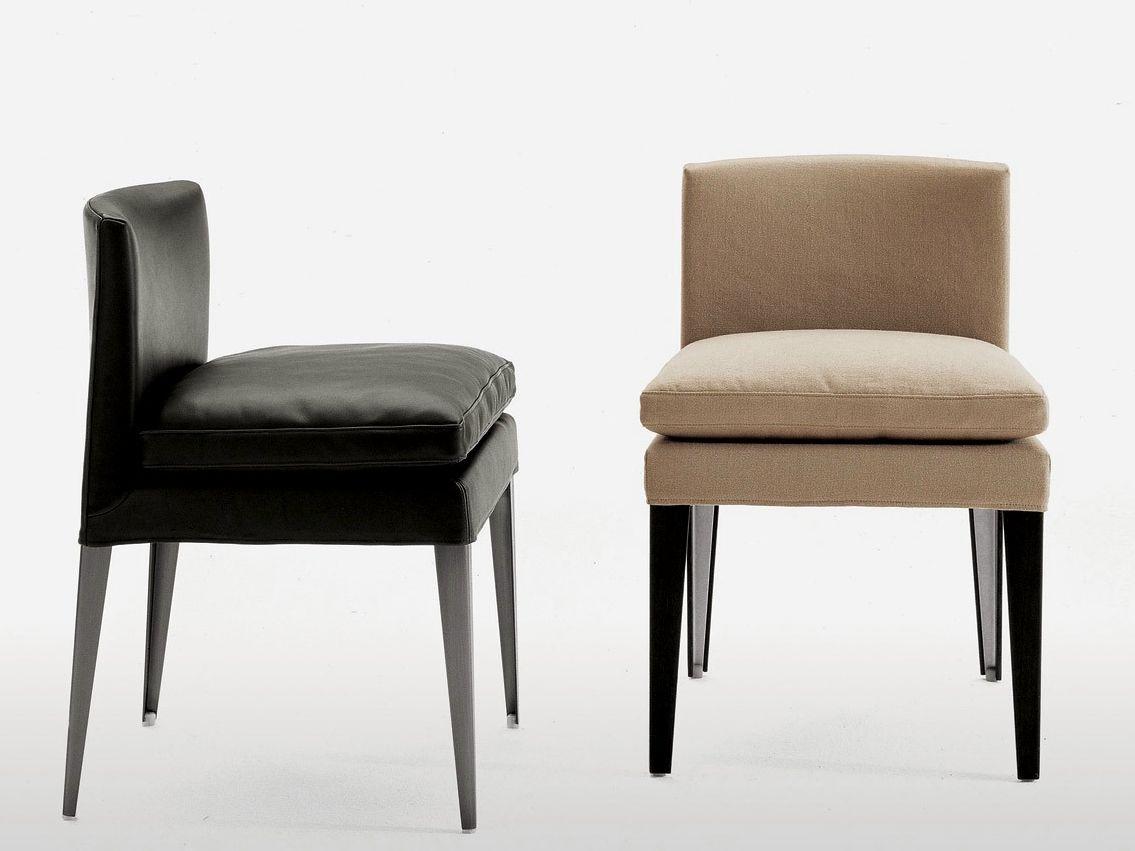 Eunice chaise en cuir by maxalto a brand of b b italia for B b italia spa