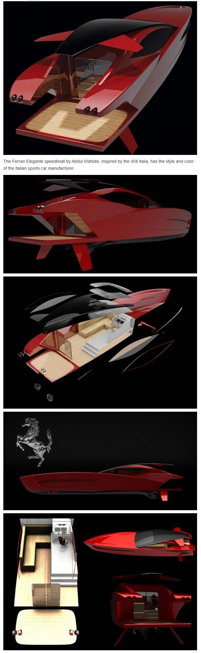 Ferrari E110 Elegante