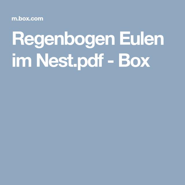 Regenbogen Eulen im Nest.pdf - Box