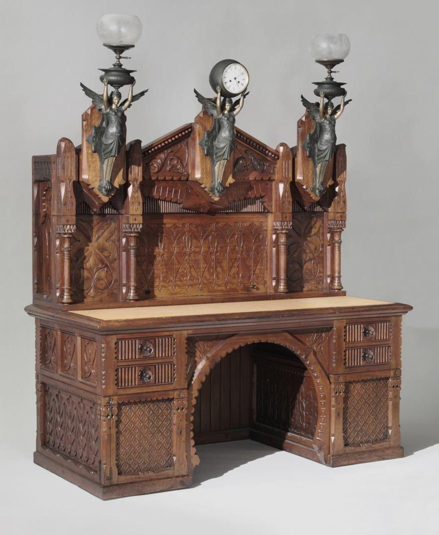 Architect Frank Furness Influenced Louis Sullivan Who Influenced  # Muebles Arte Povera