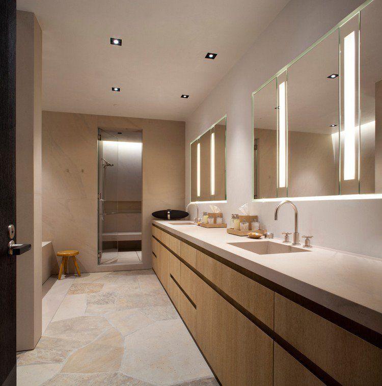 luminaire salle de bains et am nagement en 53 id es cool luminaire salle de bain miroir. Black Bedroom Furniture Sets. Home Design Ideas