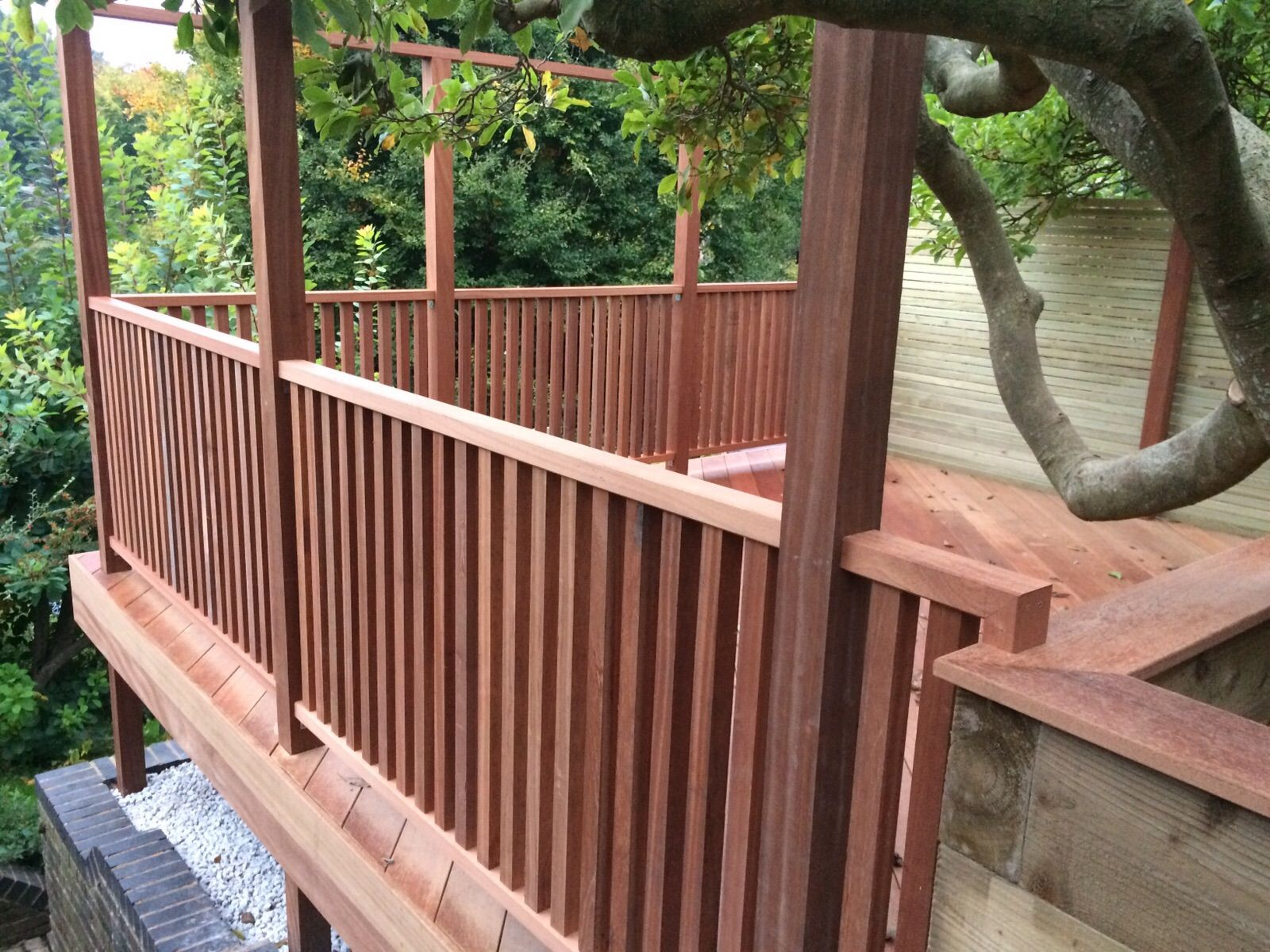 Champion Timber Hardwood Balustrade Hardwood Decking Deck Balustrade Ideas Deck Installation