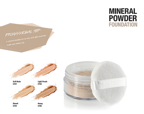 LOOSE, MATTIFYING POWDER. The MINERAL POWDER FOUNDATION