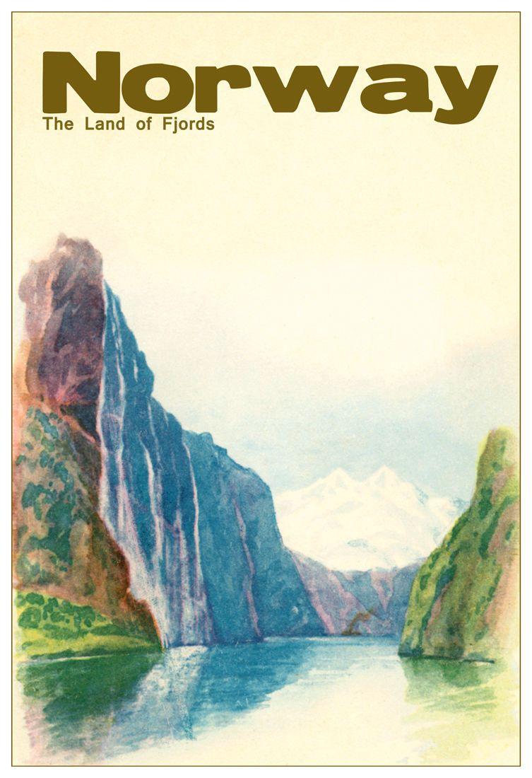 Pin By Dorte Eam On Norwegian Vintages Posters Scandinavian Art Norway Vintage Posters