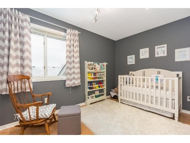 Super cute nursery! Perfect room size for one.