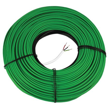 240-volt snow melt heating cable.   Product: Snow melt cableConstruction Material: Twin-conductor heating cable...