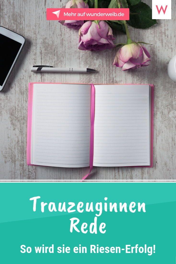 Hochzeitsrede für Trauzeugen: Tipps und Ideen | Wunderweib