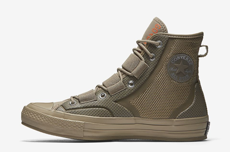 The Chuck Taylor Goes Tech Wear With The Weatherproof Urban Utility Sneakers Men Fashion Tactical Shoes Converse Boots