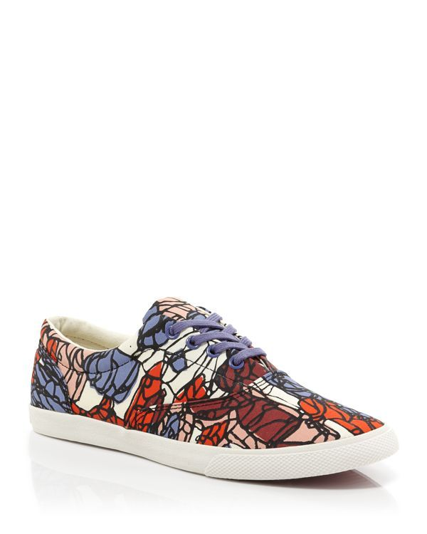 BucketFeet Flat Lace Up Sneakers - Atienza