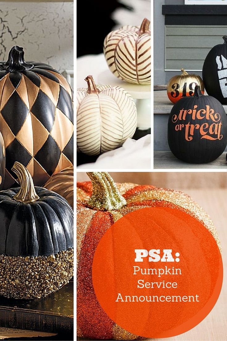 Being the pumpkin lover that I am, naturally I had to share my favorite designs with y'all, so that you too, can bring that autumn zest to your homes!